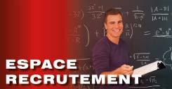 Espace de recrutement de nos professeurs particuliers à domicile