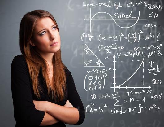 Etudiante pensive en pleine préparation intensive du concours Avenir