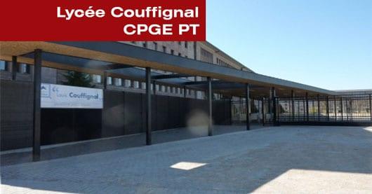 Lycée Couffignal CGGE PT à Strasbourg