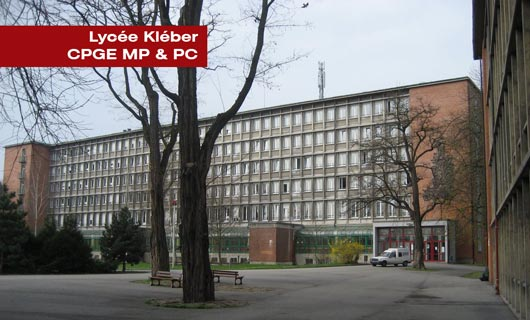 Lycée Kleber à Strasbourg CPGE MP et PC