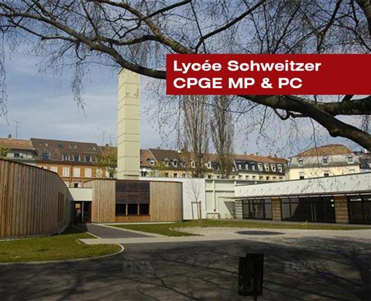 Lycée Schweitzer CPGE MP et PC