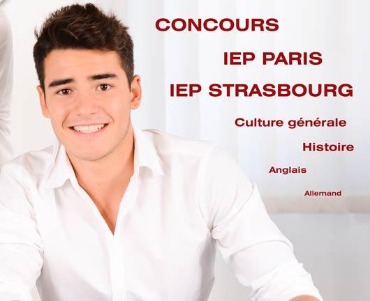 Elève préparant avec sérieux le concours IEP Paris Strasbourg