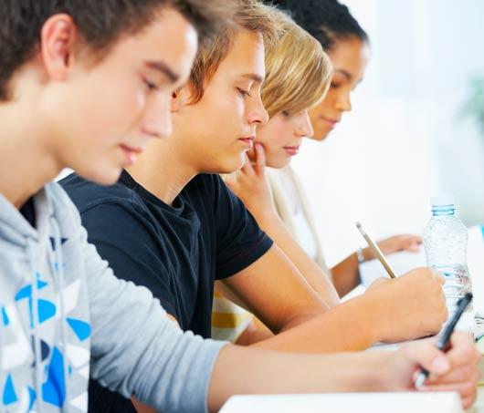 Etudiants en situation d'examen